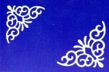 Sticker - Ecken 9 - weiß - 1018