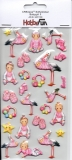 Softy-Sticker-Babygirl II von HobbyFun (3451180)