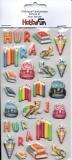 Softy-Sticker-Schule III von HobbyFun (3451208)