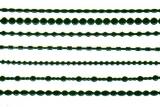 Sticker - Ränder 1 - dunkelgrün - 1001