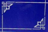 Sticker - Rand & Ecken 1 - silber - 842