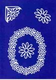 Sticker - Blumen - weiß - 1031