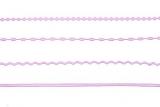 Sticker - Ränder / Linien - flieder - 1016