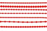 Sticker - Ränder 1 - 1001 - rot