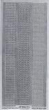 Sticker - Ränder / Linien - silber - 1016