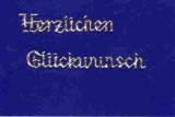 Sticker - Holografisch - Herzlichen Glückwunsch - silber - 432