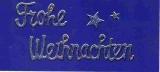 Transparent-Glitter-Sticker-Frohe Weihnachten - gold - 466