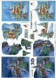 3D-Bogen Weihnachtsdörfchen von LeSuh (4169550)