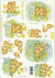 3D-Bogen Osterhasen von LeSuh (4169254)