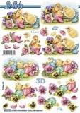 3D-Bogen Drei Küken von Nouvelle (8215720)