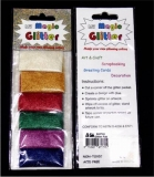 Magic Glitter (Flitter)  Universell - 6 x 2g