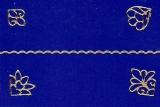 Sticker - Rand und Ecken 3 - gold - 1033