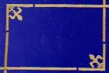 Sticker - Rand und Ecken 2 - gold - 7004