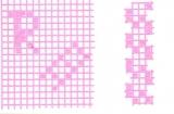Mosaik-Sticker - Ganze Platte - 1038 - rosa
