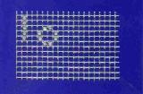 Mosaik-Sticker - Ganze Platte - 1038 - silber