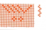 Mosaik-Sticker - Ganze Platte - 1038 - orange
