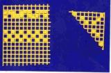 Mosaik-Sticker - Ganze Platte - 1038 - gelb