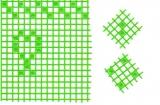 Mosaik-Sticker - Ganze Platte - 1038 - hellgrün