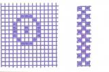 Mosaik-Sticker - Ganze Platte - 1038 - violett
