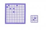 Mosaik-Sticker - Quadrate - 1078 - violett