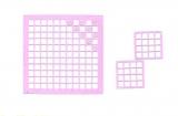 Mosaik-Sticker - Quadrate - 1078 - flieder