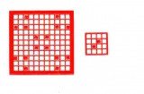 Mosaik-Sticker - Quadrate - 1078 - rot