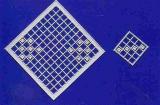 Mosaik-Sticker - Quadrate - 1078 - silber
