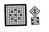 Mosaik-Sticker - Quadrate - 1078 - schwarz
