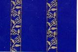 Sticker - Rosenkante - gold - 1261
