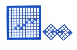 Mosaik-Sticker - Quadrate - 1078 - blau