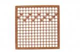 Mosaik-Sticker - Quadrate & Rand - 1081 - bronze