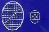 Mosaik-Sticker - Ovale (Eier) - 1080 - silber