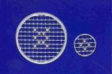 Mosaik-Sticker - Kreise - 1079 - silber
