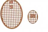 Mosaik-Sticker - Ovale (Eier) - 1080 - bronze