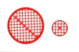 Mosaik-Sticker - Kreise - 1079 - rot