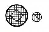 Mosaik-Sticker - Kreise - 1079 - schwarz