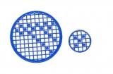 Mosaik-Sticker - Kreise - 1079 - blau