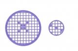 Mosaik-Sticker - Kreise - 1079 - violett