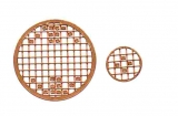 Mosaik-Sticker - Kreise - 1079 - bronze