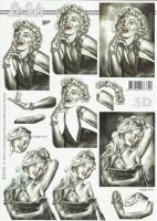 3D-Bogen Marilyn Monroe & Brigitte Bardot von LeSuh (4169970)