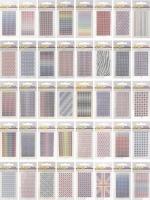 40x PineryCard Glamour-Sticker - alle Sticker im Set