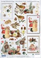 Stanzbogen Christmas Vintage 1 von Reddy