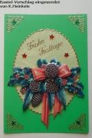 Stanzbogen Weihnachtsgestecke von Reddy