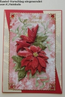 Stanzbogen Bouquets zu Weihnachten von Reddy