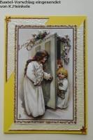 Stanzbogen Warten aufs Christkind von Reddy