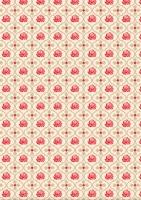 Designer-Paper Red Roses (84806)