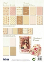 Designer-Paper Vintage Roses (84808)