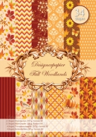 Designer-Paper Fall Woodlands (84804)