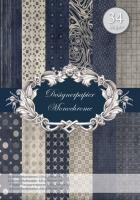 Designer-Paper Monochrome (84810)
