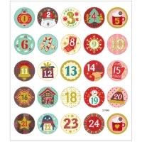 Creativ-Sticker Kalendertage
